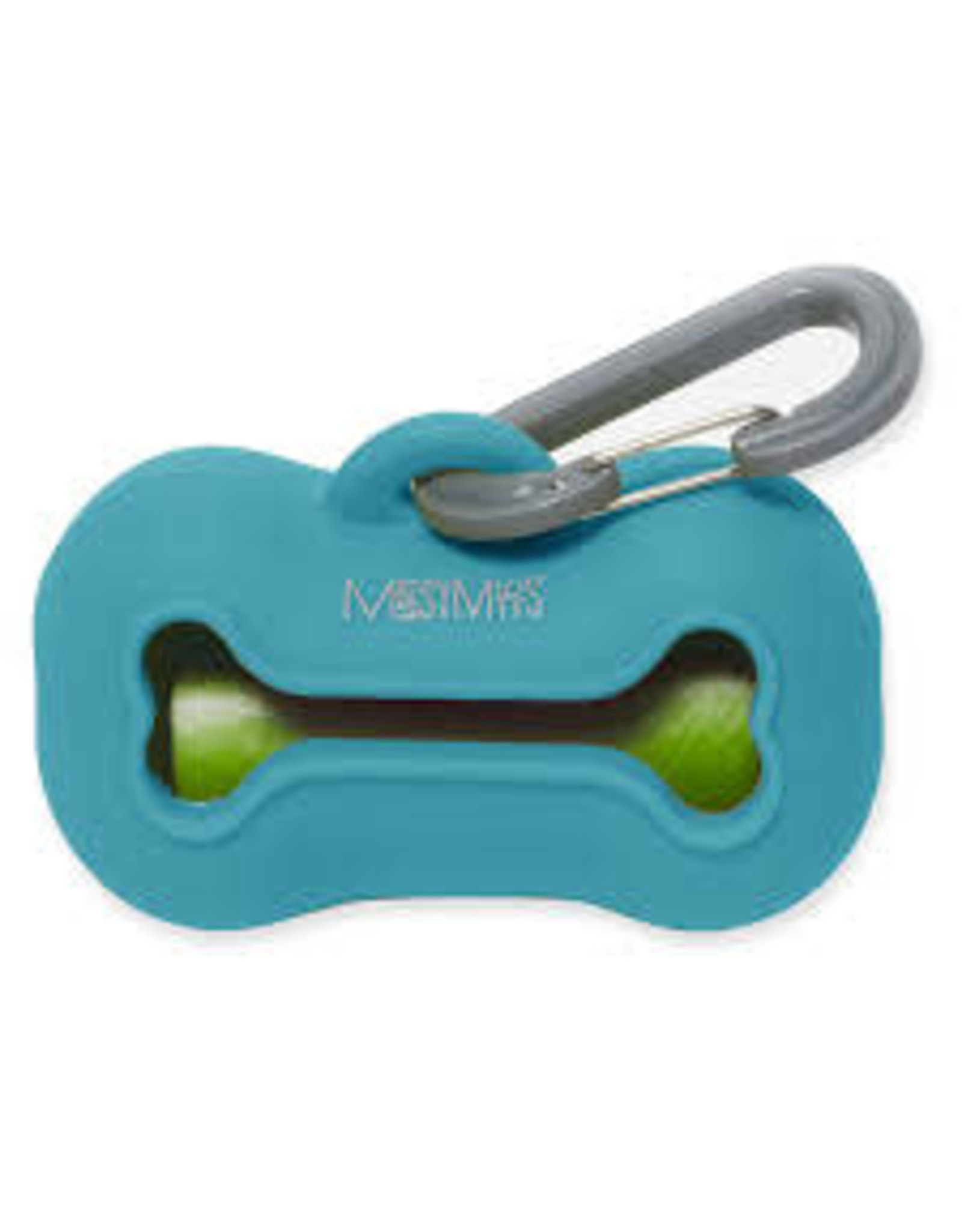 Messy Mutts Messy Mutt Waste Bag Holder Blue