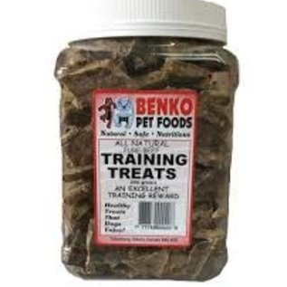Benko Benko Beef Lung Training Treats 227g Jar