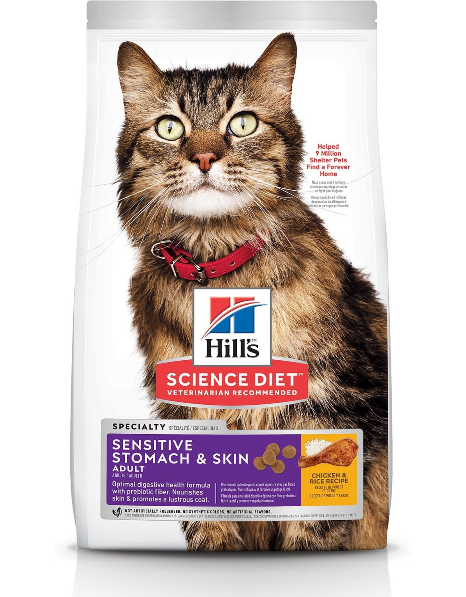 Hill's Hills Science Diet Sensitive Stomach and Skin Chicken & Rice 15.5lbs