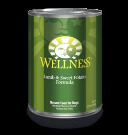 Wellness WEL DOG CAN LAMB/SWEET POTATO, 12.5 OZ.