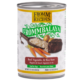 Fromm Frommbalaya Beef, Vegetable & Rice Stew 12.5oz