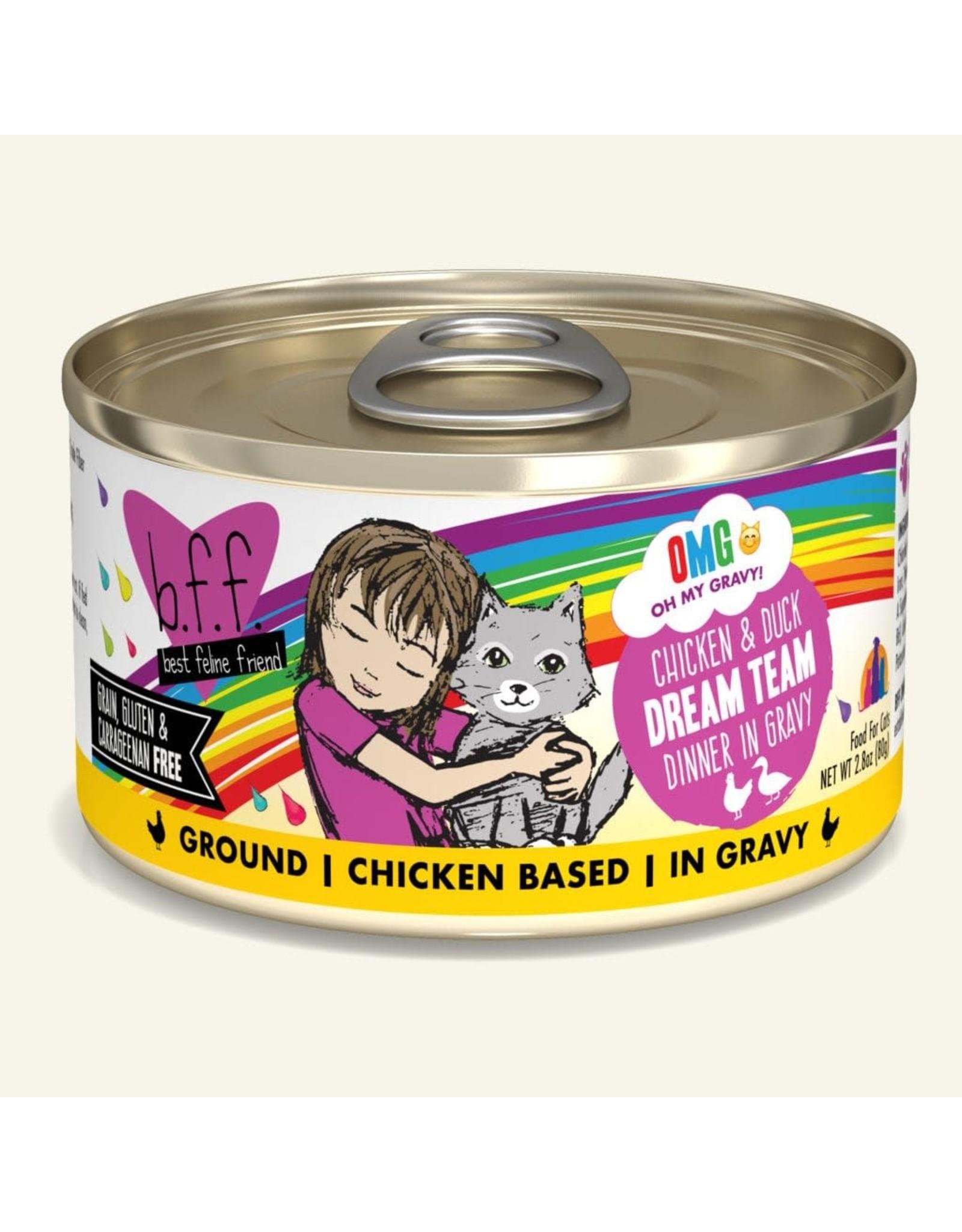 Weruva BFF OMG Chicken & Duck 2.8 oz