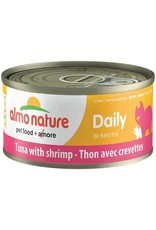 Almo Nature Almo Nature Daily Tuna with Shrimp Cat Can 70g (24cs)