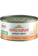 Almo Nature HQS Natural Tuna with Shrimp in Broth Cat Can 70g
