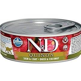 Farmina N&D Cat Wet - Skin & Coat Quinoa Duck & Coconut 2.8oz