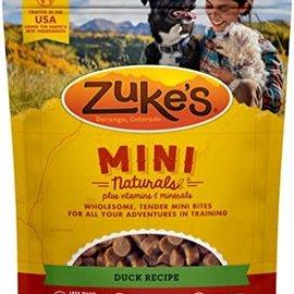 Zukes Zuke's Dog Mini Treats - Duck 16oz