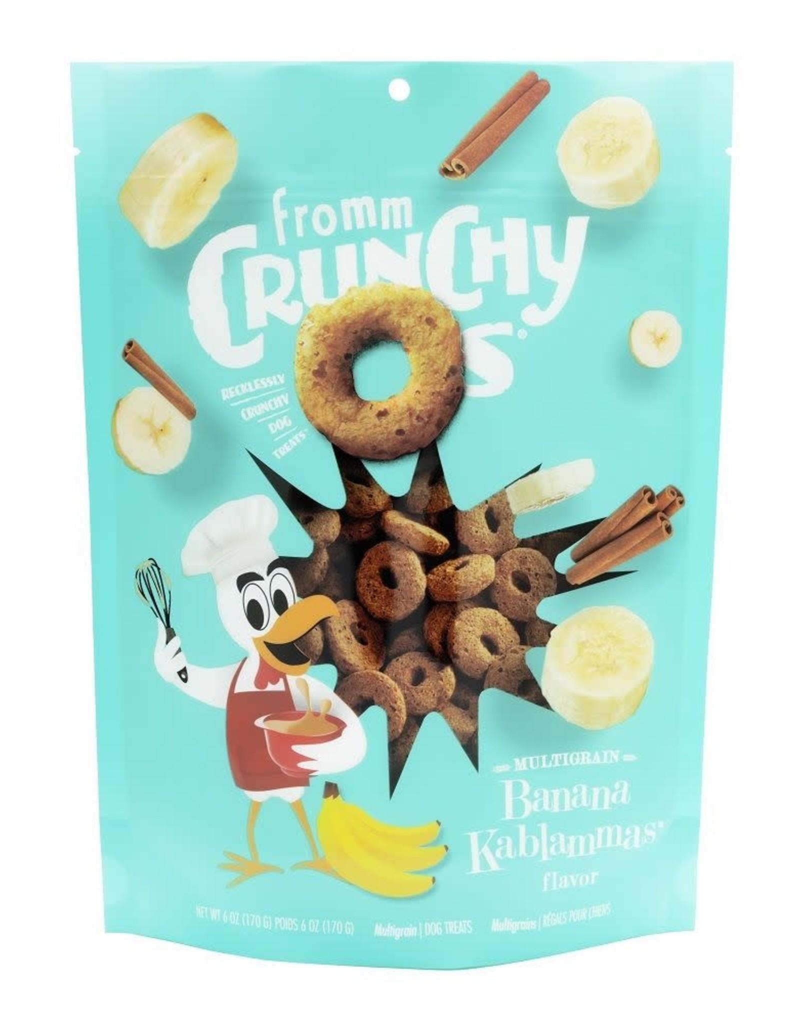 Fromm Fromm Crunchy O's Banana Kablammas 170g