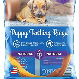 N-BONE Puppy Teething Ring - Pumpkin 1.2 oz