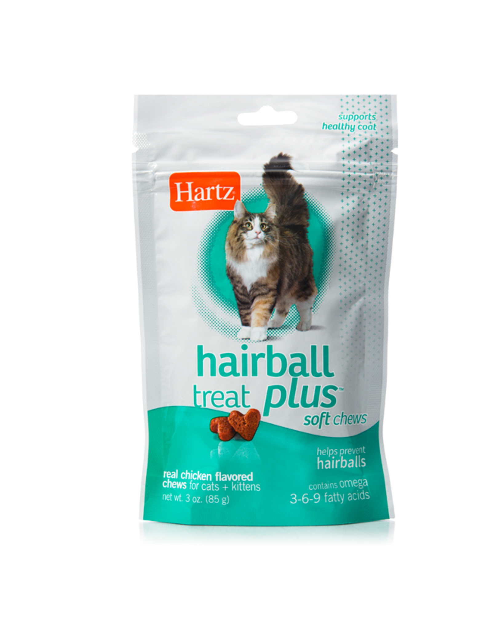 hartz Hartz Hairball Relief Plus Soft Chews 85g