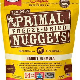 Primal Primal Freeze Dried Nuggets For Dogs Rabbit 156g