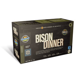 Big Country Raw Big Country Raw Bison Dinner 4LB