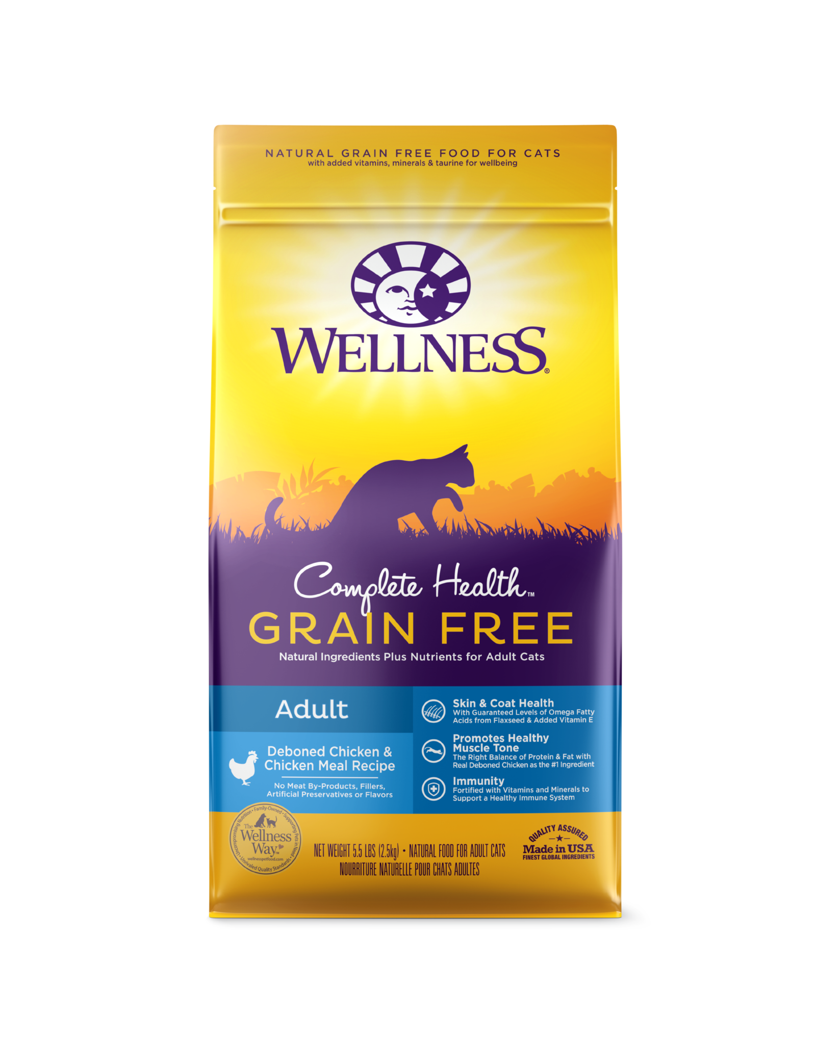 Wellness Grain Free Chicken 2LB (6) Cat