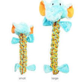 chomper chomper elephant dog toy