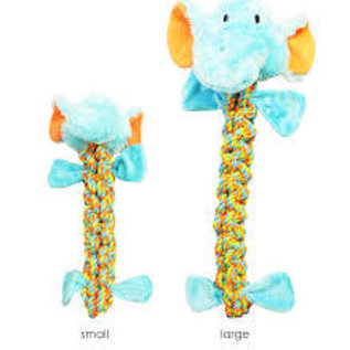 chomper chomper elephant dog toy