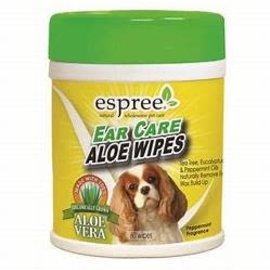 ESPREE Espree Ear Care Aloe Wipes 60 count