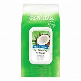 Tropiclean Tropiclean Coconut Ear Cleaning Pet Wipes 50ct