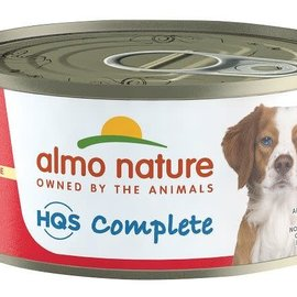 Almo Nature Almo Nature HQS Complete Chicken Stew Beef & Carrot Dog Can 156g