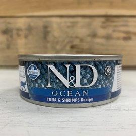 Farmina N&D Ocean Cat Wet - Tuna & Shrimp 2.8oz