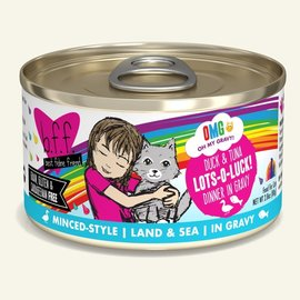 Weruva BFF OMG Lots-O-Luck Duck & Tuna 2.8oz Cans