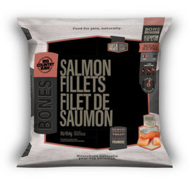 Big Country Raw Big Country Raw Frozen Salmon Fillets 1Lb