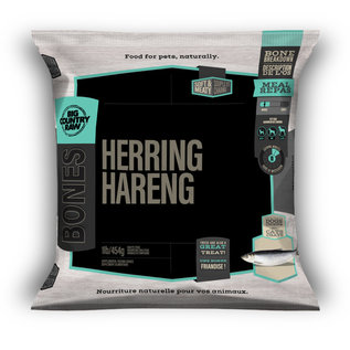 Big Country Raw Big Country Raw Frozen Herring 1lb