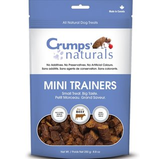 Crumps' Crumps' Naturals Mini Trainers Beef 250g