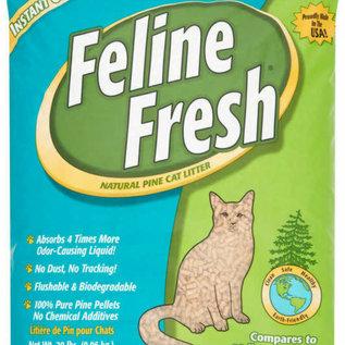 feline fresh Feline Fresh Pine Pellets Cat Litter (Teal) 7 LB