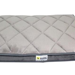 "Be One Breed Be One Breed Memory Foam Dark Grey Bed Medium  25x35"""