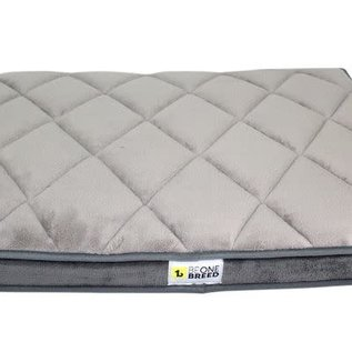 """Be One Breed Be One Breed Memory Foam Grey Small 17x23"""""""