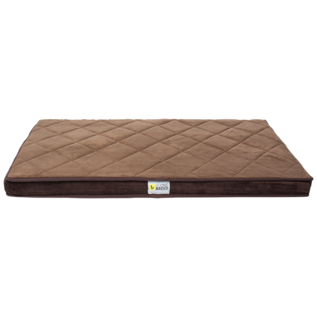 """Be One Breed Be One Breed Memory Foam Brown Large 28x46"""""""