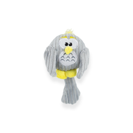 "Be One Breed Be One Breed Baby Owl Dog Toy (4"")"