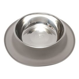 messy cats Messy Cats Silicone Single Bowl Gray