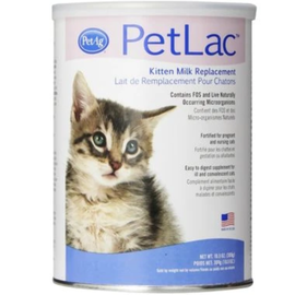 PETAG PetLac Kitten Milk Replacement 10.5 oz Powder