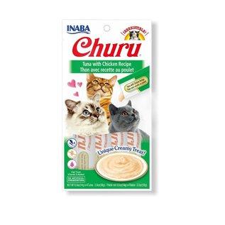 Inaba Inaba Churu Tuna w/ Chicken 4x14g