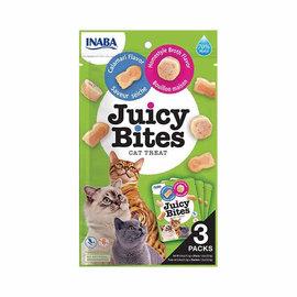 Inaba Inaba Juicy Bites Cat Treats - Calamari & Homestyle Broth 3 x 0.4oz