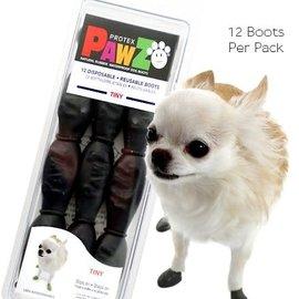 Pawz Products PAWZ Boots - Tiny 12pk Black