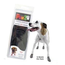 Pawz Products PAWZ Boots - Small 12pk Black