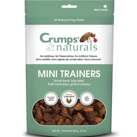 Crumps' Crumps' Dog Naturals Mini Trainers Chicken 120g