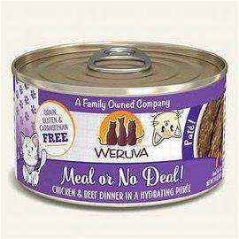 Weruva Weruva Cat - Chicken & Beef Meal or No Deal!  3.0oz can