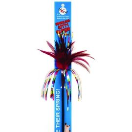 Go Cat Products GO CAT Long Sparkling Kitty Duster 36in