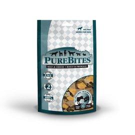 Pure Bites PureBites Dog Treats Beef Liver & Cheese 4.2oz