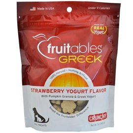 Fruitables Fruitables Dog Treats Strawberry Yogurt 198g