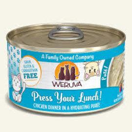 Weruva Weruva Cat Press Your Lunch Chicken Dinner Puree 3oz can