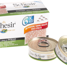 Schesir Schesir Tuna and Chicken Multipack