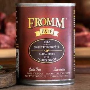 Fromm Fromm Beef & Sweet Potato Pate 12.2oz