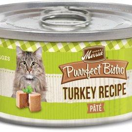 Merrick Merrick Purrfect Bistro Turkey Pate 3oz