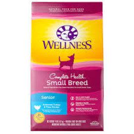 Wellness Wellness Small Breed Senior Turkey & Peas 4lbs
