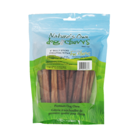"""Nature's Own Nature's Own 6"""" Bully Sticks (18 Pack)"""