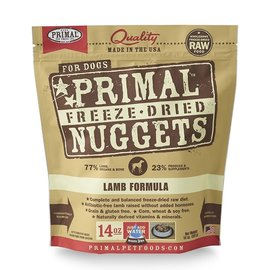 Primal Primal Frozen Raw Nuggets For Dogs Lamb 3lbs