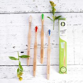 OLA Bamboo Bamboo Toothbrush for Large Dog